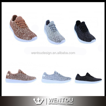 810a6e06fb82 Wholesale Newest Design Glitter Tennis Shoes - Buy Glitter Tennis ...