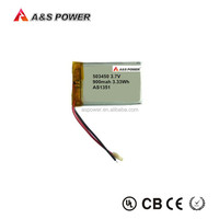 3.7V 800mAh Li Polymer Digital Video Device Battery Pack