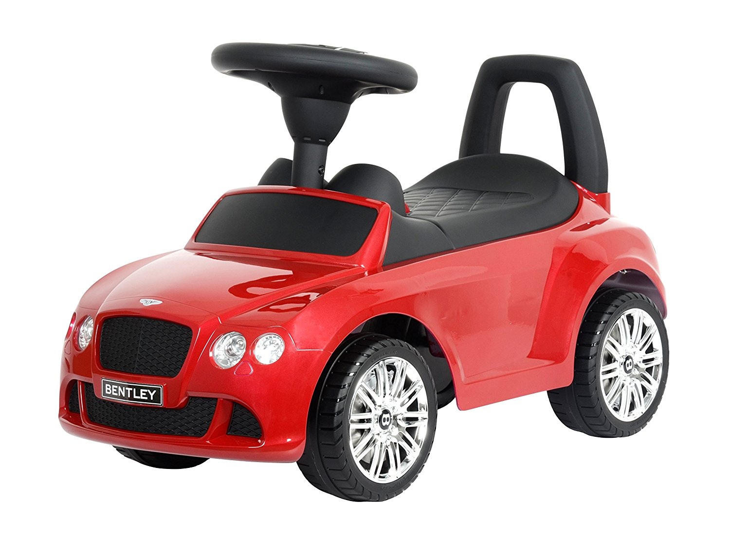 """Kids Preferred Licensed to Ride-On Red Bentley Continental GT Speed, 26.2"""""""