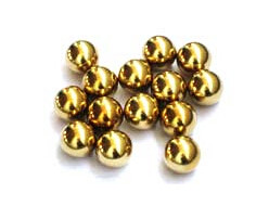 G100--G2000 1mm-100mm solid brass ball