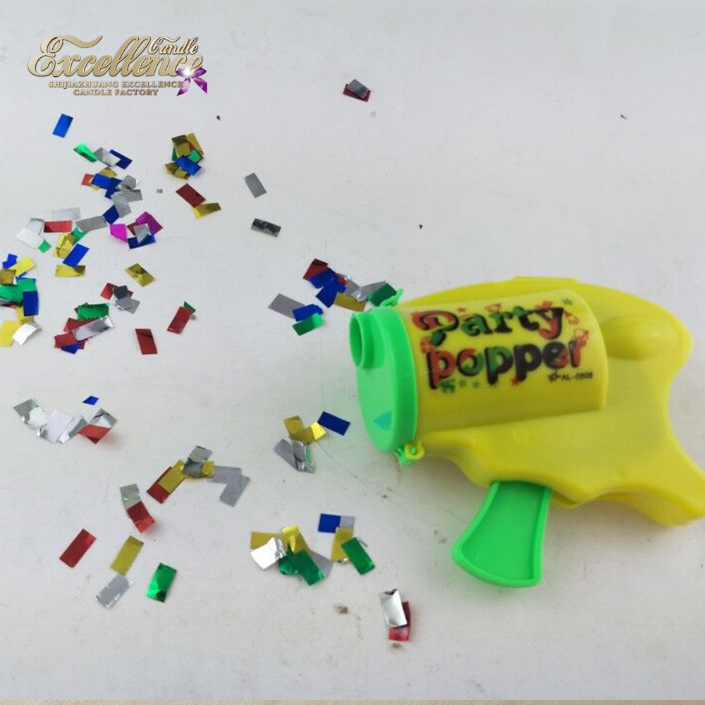 Factory Supplier OEMs Confetti Party Popper Gun/Wedding Confetti Popper Gun/Celebration Party Supplies Birthday