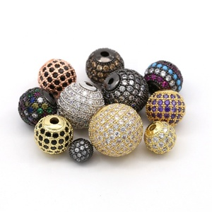 Fashion cz micro pave beads, pave diamond spacer beads, jewelry bead