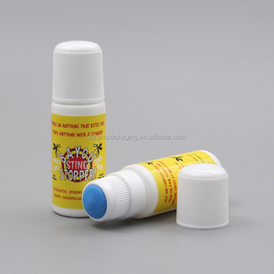 30ml HDPE Medicine Sponge Applicator Bottle