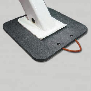 Uhmwpe Plastic Floor Mat Interlocking Black Crane Mats
