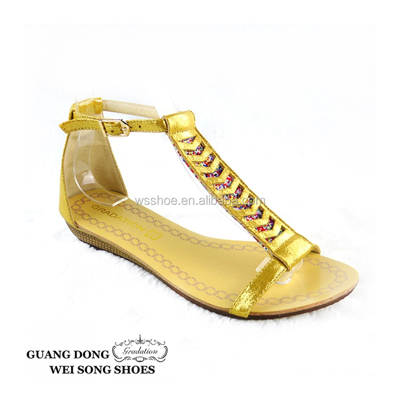 26d0aa3d7b3 Bohemian style comfortable sandals for flat feet new design fashion flat  summer sandals 2018