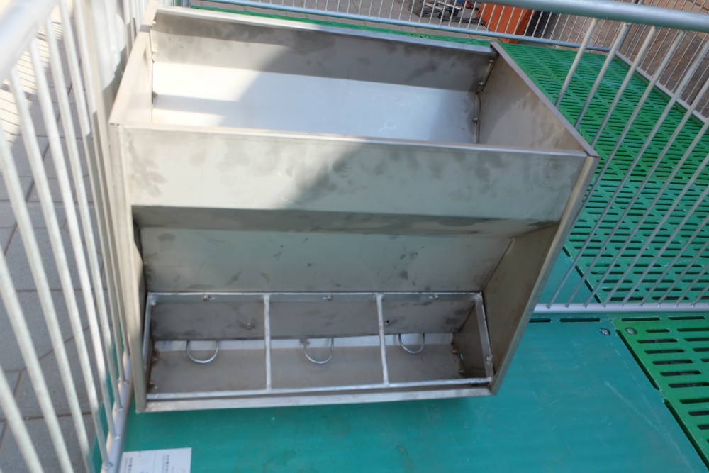 Stainless Steel Double Sided Trough