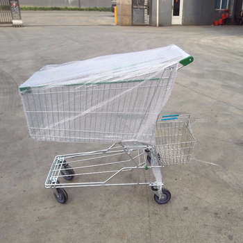100L Aisa shopping trolley carts with baby seat for middle East