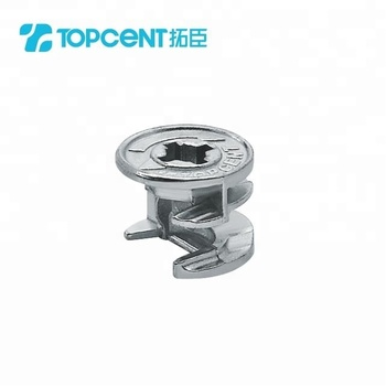 Zinc alloy 15 or 16mm furniture connector cam lock