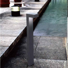 Small IP54 6W CE Bollard Light For Square Garden Luminaire 600mm Height