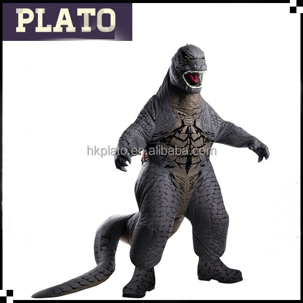 Rubies Costume Mens Godzilla Adult Inflatable Air Blown, Multicolor, Standard