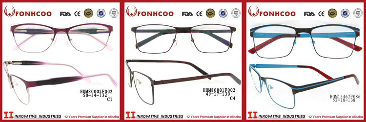 Fonhcoo Cheap Price Men Metal Classic Types Of Optical Spectacles ...