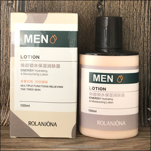A6405 energy men's cream hydrating moisturizing lotion 100ml men face cream body lotion natural herbal beauty cream
