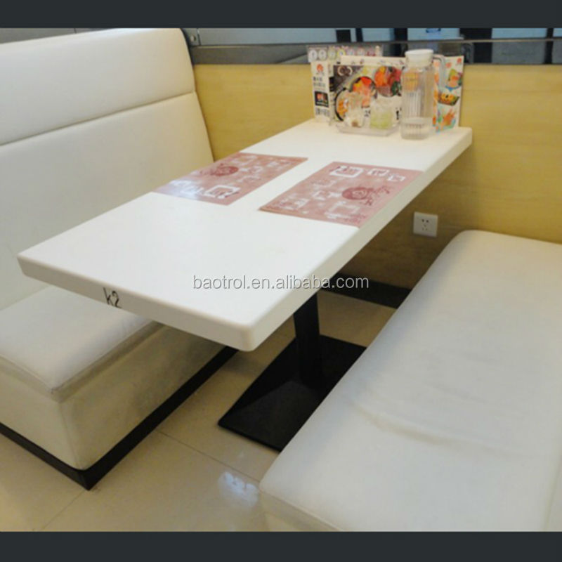Easy Clean Marble Top Dining Table And Chair/fast Food Table And Chairs/
