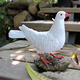 factory custom-made high quality polyresin white dove figurine