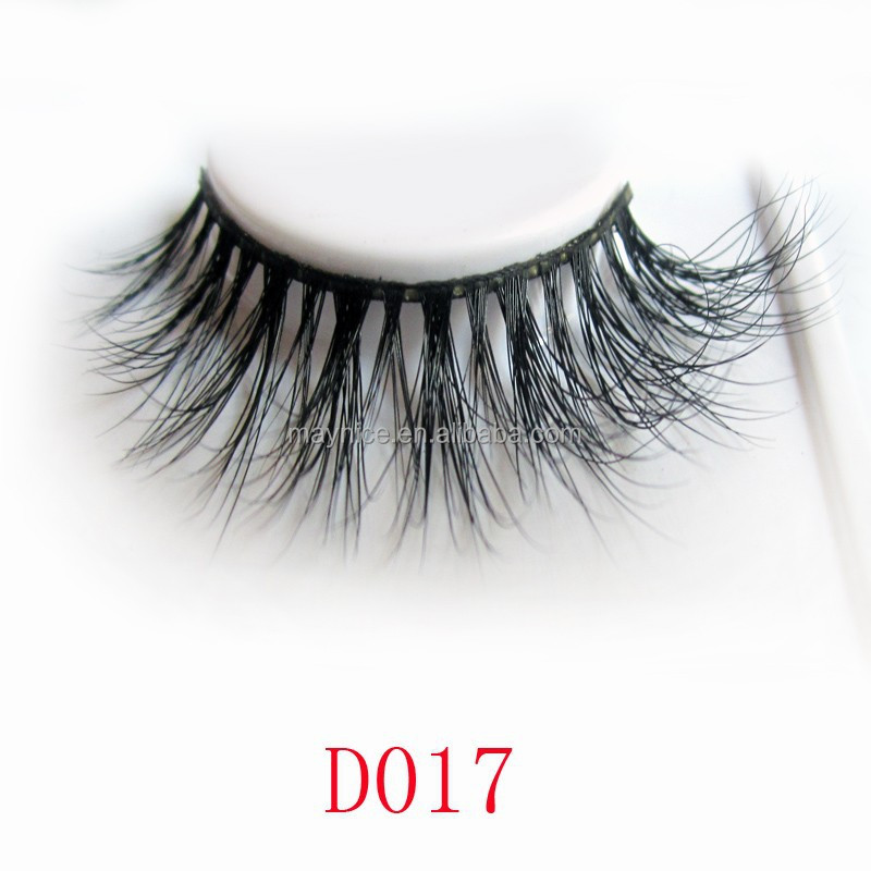 2014 new arrival handmade 3D real mink false eyelash extension