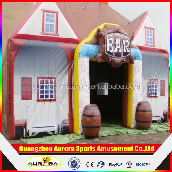 Best popular outdoor inflatable bar tent inflatable pub tent with factory lower price