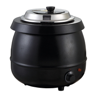 Buffet supplies 10L electric soup heating pot/kettle