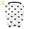 Amazon hot sell 5 in 1 Multi-Use Baby Car Seat Cover Canopy and Nursing cover scarf Stretchy Infinity Scarf Nursing cover