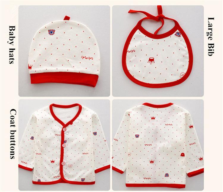 a108e60deab41 Lovely (7 pieces set) Newborn Baby Infant Boy s Girl s Cotton Clothes Sets  Child