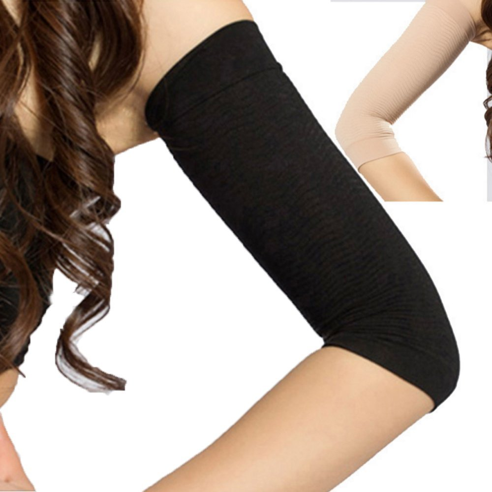 97f9f45f77 Get Quotations · JAPAN SOLUTIONS Slim Arms Compression Shaper Upper Arm  Slimmer 1 Pair