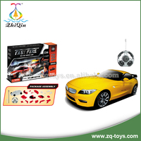 Hot selling radio control car rc car remote control intelligent diy model car toy with high quality