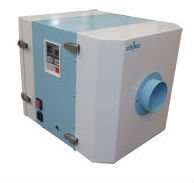 cyclone dust collector with HEPA filter for clean room