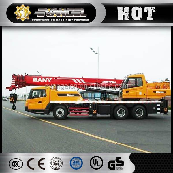 SANY machinery STC250 25 ton mobile crane in malaysia