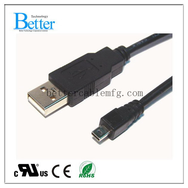 Contemporary antique usb af to mini 5 pin cable