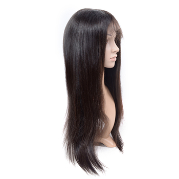 Raw indian brazilian straight full lace wigs virgin hair, indian very long human hair wig bangs,colored ombre brazilian hair wig