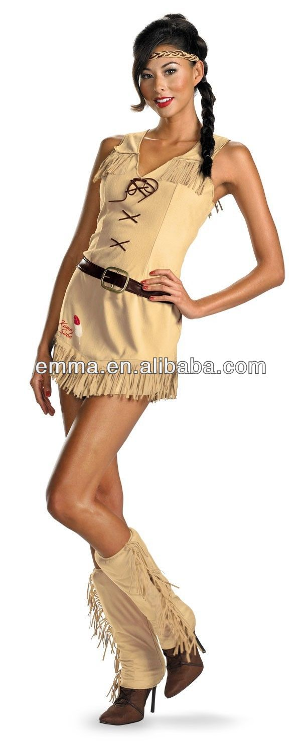 The Lone Ranger Tonto Adult Womens Indian Pocahontas Native American