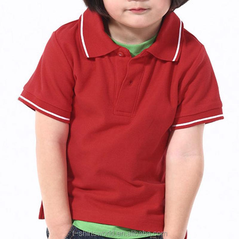 a485aec6e الاطفال بولو قميص فارغة، ملابس للأطفال-قمصان وبلوزات بحجم كبير-معرف ...