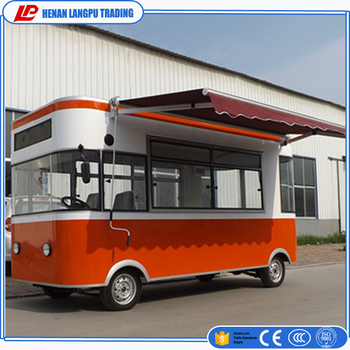 China Supplier Cheap Food Trailer Cart Mobile Truck