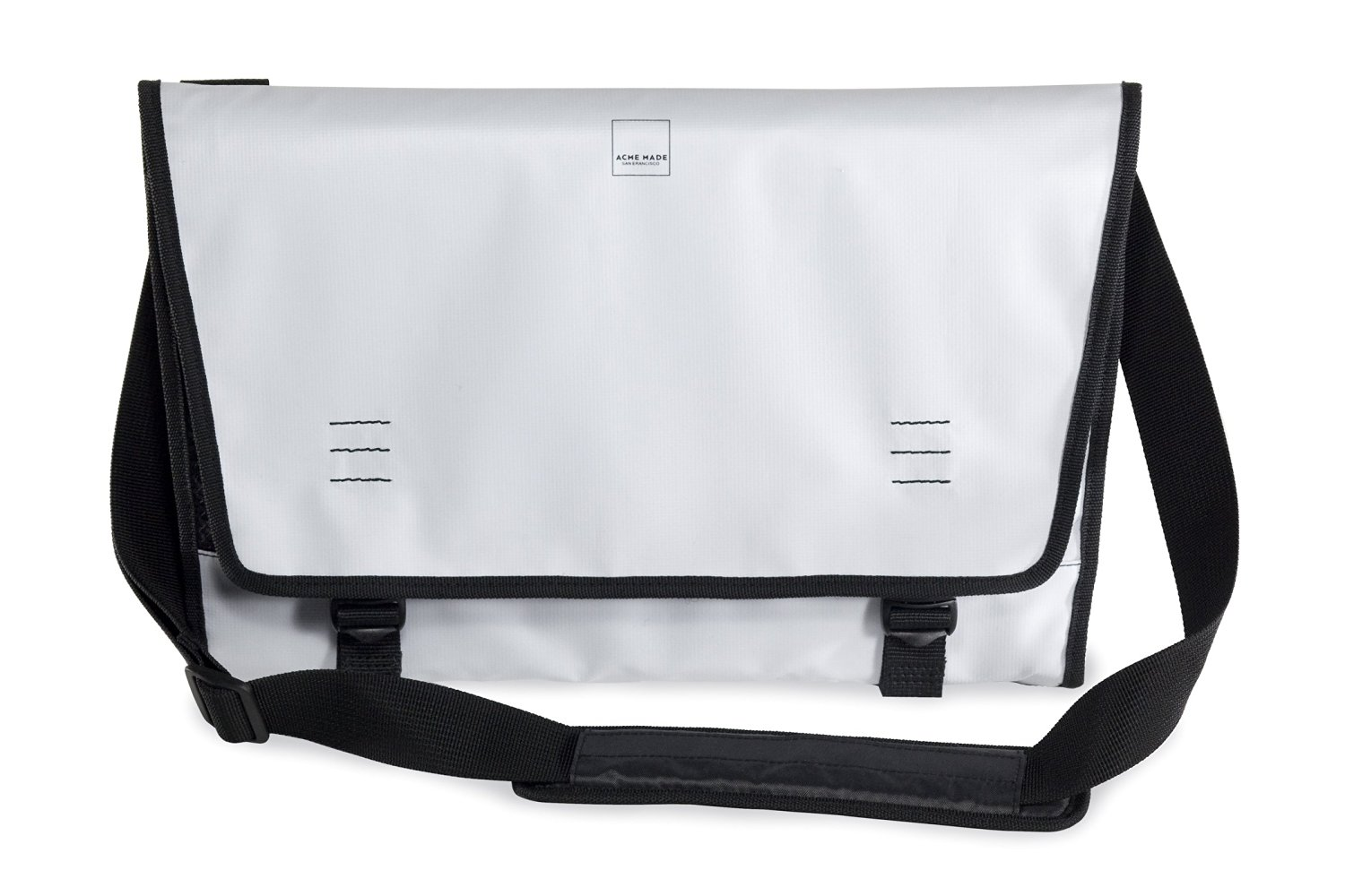 Acme Made The Nopa Tri-Fold Laptop Bag for 15-Inch MacBook and Ultrabooks, White (AM00833-CEU)
