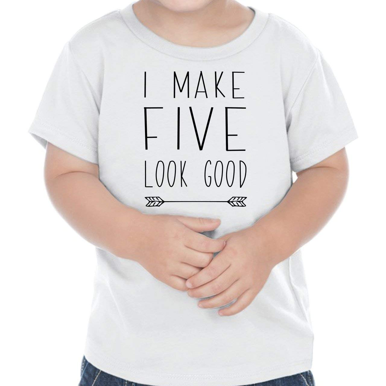 Bump and Beyond Designs Fifth Birthday Outfit Boy Five Year Old Boy Birthday T-Shirt