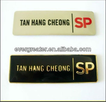 Name Logo Custom Magnetic Name Tagsname Badges With Magnet Buy