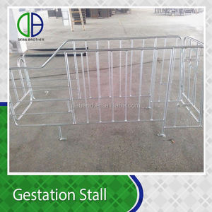 Wholesale Alibaba Galvanized Gestation Sow Stalls