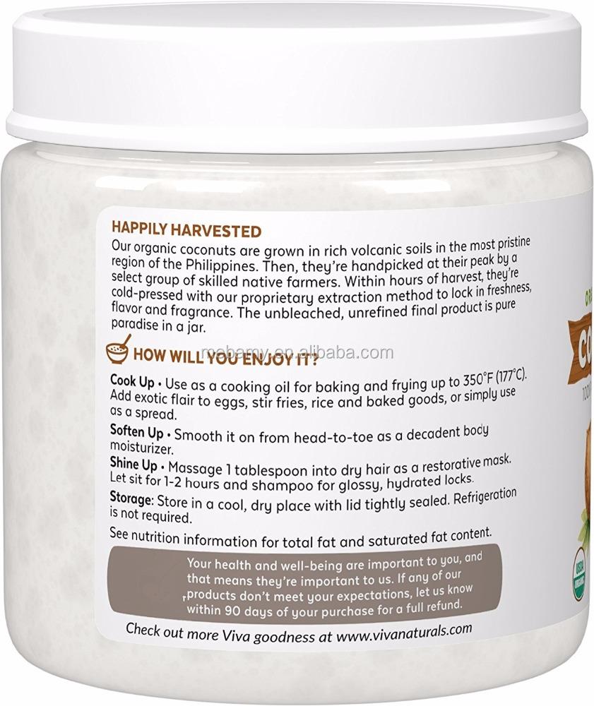 Самое мощное органическое натуральное кокосовое масло Экстра девственницы