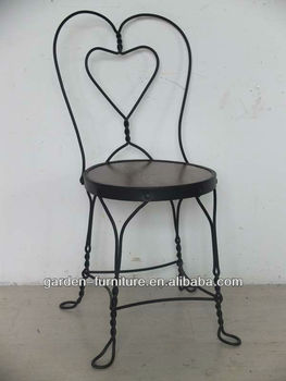 Whole Sweetheart Cafe Carolina Bistro Antique Indoor Wrought Iron Chairs