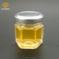 quality seal cheap LOW MOQ hex Jam Canning Jars factory