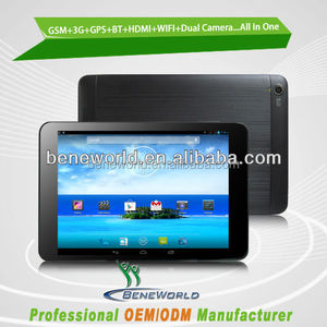 "Hot 7.85"" ips 1024*768 mtk8382 quad core 3g zpad android tablet pc"