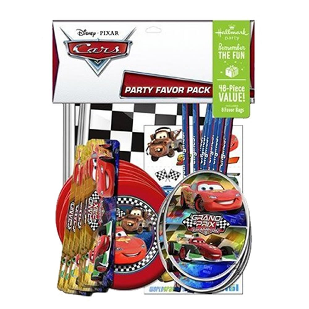 Disney Cars Grand Prix Dream Party Favor Pack