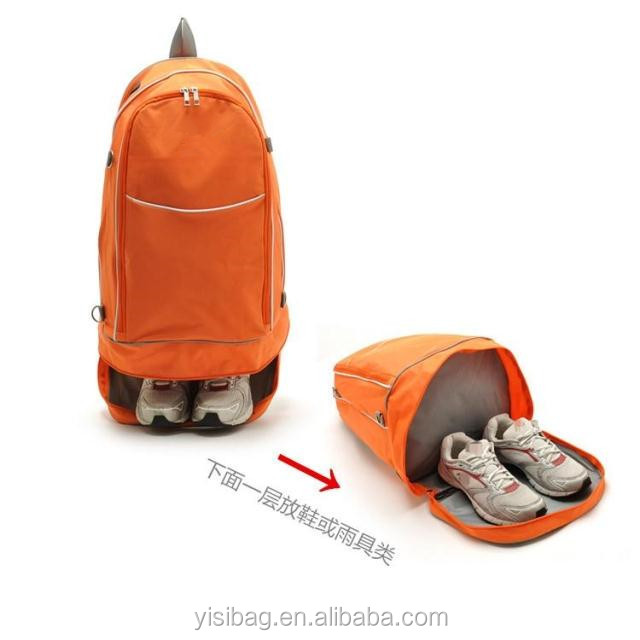 Sport Backpack Shoe Compartment
