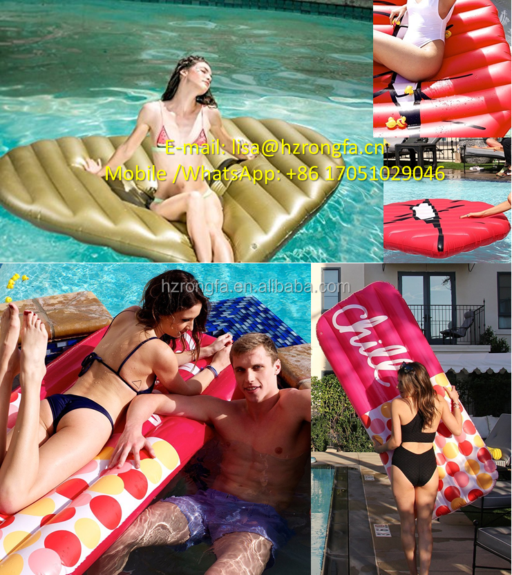 Sports & Entertainment MOQ 1 PC Manufacturing Directly Swimming Ring For Adults Inflatable Swimming Pool Float Holiday Raft