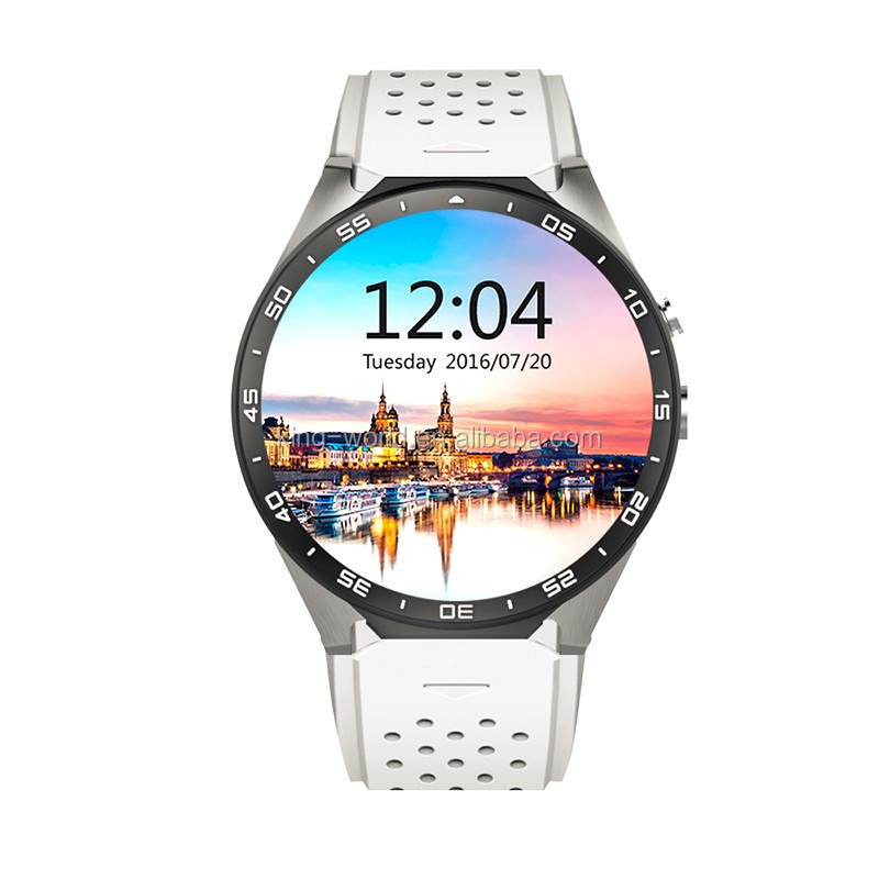 2019 OEM Original CE ROHS KingWear KW88 1.39 inch MTK6580 <strong>Android</strong> 5.1 OS 3G GPS Wifi <strong>Android</strong> Smartwatch <strong>Phone</strong>