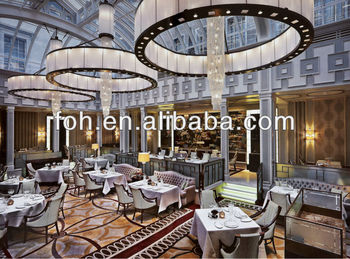 Good Dining Table And Chair Set 5 Star Hotel Furniture, USA High End Restaurant  Furniture(