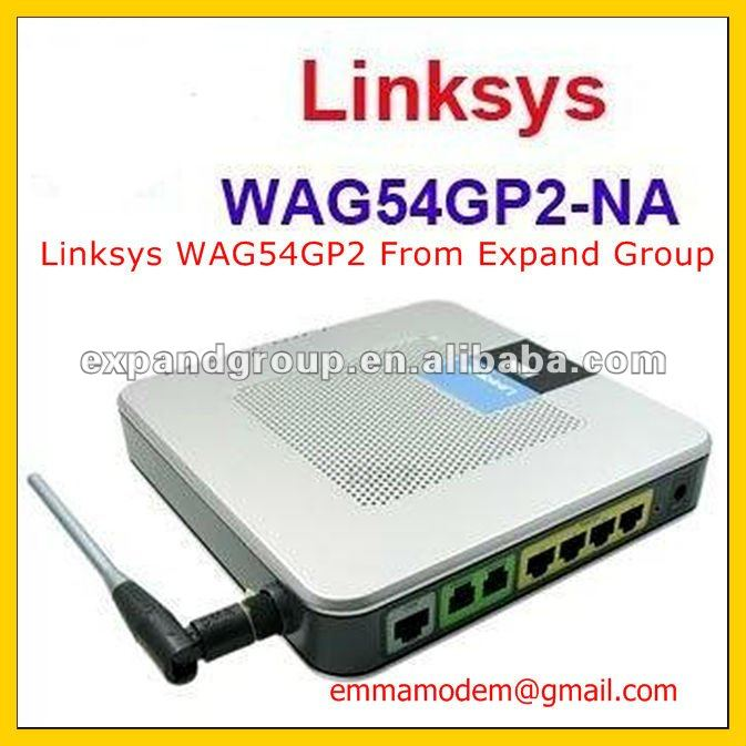 Linksys WAG54GP2 with Multiple SSID function for SIP