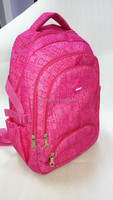 600D blank backpack for student ,book bags