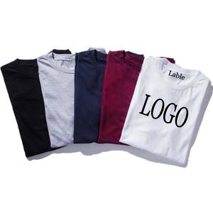 Custom short sleeve 100% cotton printing blank t-shirt men in clothing manufacture