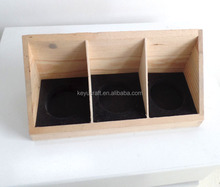 wooden essential oil holders