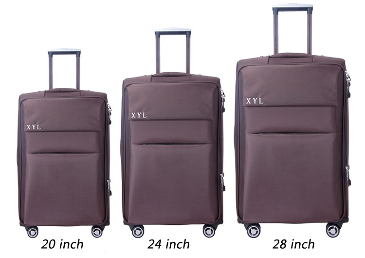 Hot Sale Soft Material Luggage Bags & Cases,Swiss Polo Trolley ...